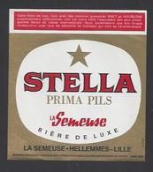 Etiquette De Bière De  Luxe   -  Stelle -   Brasserie Semeuse à Hellemmes Lille   (59) - Beer