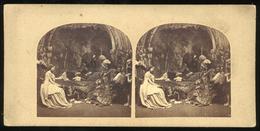 Stereoview - Hamlet, William Shakespeare - Stereoscopi