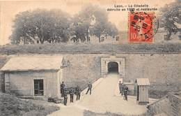 LAON - La Citadelle Détruite En 1870 Et Restaurée - Laon
