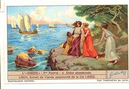 "S1238- CHROMO LIEBIG - 1930 -  "" L'ENEIDE - 1ere PARTIE "" : 4. DIDON ABANDONNEE - Liebig"