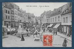 PONT DE L' ARCHE - Place Du Marché - Pont-de-l'Arche