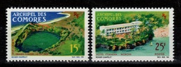 Comores - YV 39 & 40 N** Vues Cote 3,10 Euros - Comores (1950-1975)