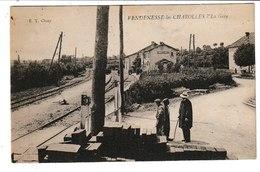 Saône Et Loire VENDENESSE LES CHAROLLES La Gare - Otros Municipios