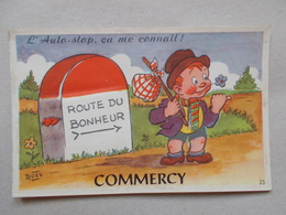 CPA DE COMMERCY - CARTE A SYSTEME - Commercy