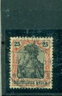 Deutsches Reich, Germania, Nr.88 II A Doppelt BPPgeprüft Gestempelt - Deutschland