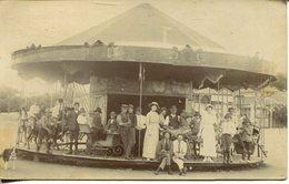 Personen Auf Karussell Um 1910  (007854) - Sonstige