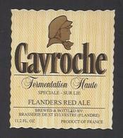 Etiquette De Bière  -  Gavroche  -  Brasserie De Saint Sylvestre  à Saint Sylvestre Cappel   (59) - Beer