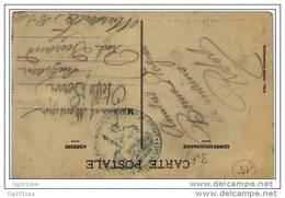 Cachet Hopital Complémentaire N°33 ROYAT S CP De ROYAT - WW I