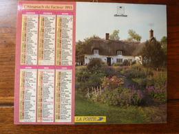 Calendrier, Almanach Du Facteur - La Poste - 1993 - - Autres