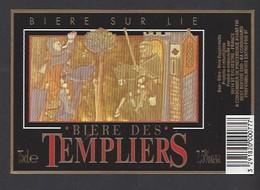 Etiquette De Bière  -  Des Templiers    -  Brasserie De Saint Sylvestre  à Saint Sylvestre Cappel   (59) - Beer
