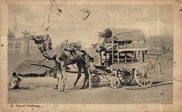 INDIA // INDE.  CAMEL CARRIAGE - India