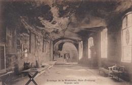 GUIN - DÜDINGEN - FRIBOURG - FR - SUISSE -  CPA 1914 - BEL AFFRANCHISSEMENT POSTAL. - FR Fribourg