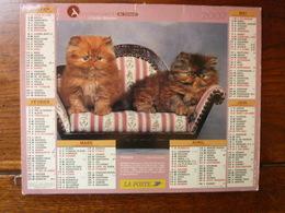 Calendrier, Almanach Du Facteur - La Poste - 2007 - Chats Persans Et Autres - Autres