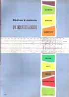 Nestler-Règles à Calculs-Brochure Publicitaire De 20p Largement Illustrées+détails Pratiques-+/-1960- - Werbung