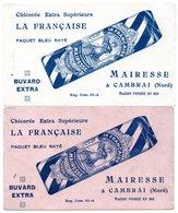 2 Buvards Chicorée Mairesse à Cambrai. - Café & Thé