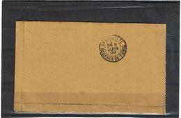 LCTN59/LE/5 - ITALIE EP BP UMBERTO I A DESTINATION DE LA GOULETTE (TUNISIE) - Interi Postali