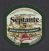 Etiquette De Bière Blonde -  Septante 5 -  Brasserie Terken  à  Roubaix  (59) - Beer
