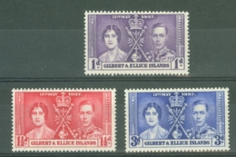 Gilbert & Ellice Islands: 1937   Coronation     MH - Gilbert & Ellice Islands (...-1979)
