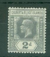 Gilbert & Ellice Islands: 1939/55   KGVI    SG46   2d    MH - Gilbert & Ellice Islands (...-1979)