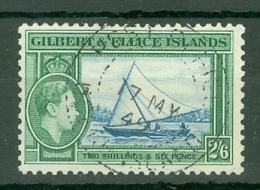 Gilbert & Ellice Islands: 1939/55   KGVI    SG53   2/6d    Used - Gilbert & Ellice Islands (...-1979)