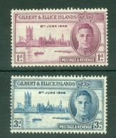 Gilbert & Ellice Islands: 1946   Victory     MH - Gilbert & Ellice Islands (...-1979)