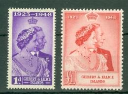 Gilbert & Ellice Islands: 1949   Royal Silver Wedding     MH - Gilbert & Ellice Islands (...-1979)