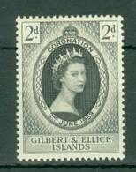 Gilbert & Ellice Islands: 1953   Coronation     MH - Gilbert & Ellice Islands (...-1979)