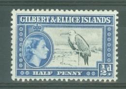 Gilbert & Ellice Islands: 1956/62   QE II - Pictorial    SG64   ½d     MH - Gilbert & Ellice Islands (...-1979)