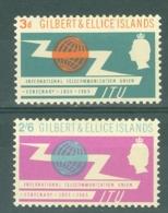 Gilbert & Ellice Islands: 1965   I.T.U. Centenary     MH - Gilbert & Ellice Islands (...-1979)