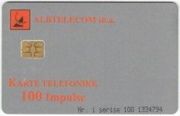 ALBANIA A-066 Chip Albtelecom - Used - Albanie