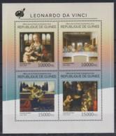D718. Guinea - MNH - 2014 - Art - Paintings - Leonardo Da Vinci - Kunst