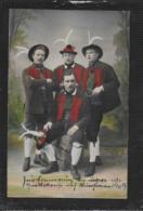 AK 0381  Tiroler TRachten - Künstlerkarte Um 1909 - Trachten