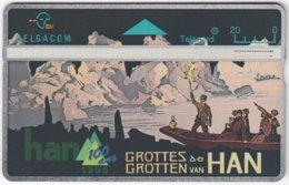 BELGIUM B-475 Hologram Belgacom - 523C - Used - Ohne Chip