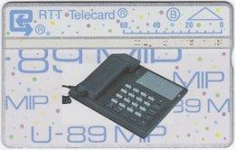 BELGIUM B-492 Hologram Belgacom - Communication, Telephone - 106L - Used - Ohne Chip