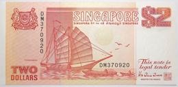 Singapour - 2 Dollars - 1990 - PICK 27 - NEUF - Singapore