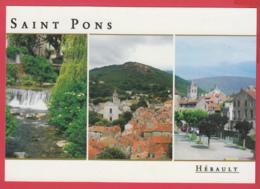 CP-34- SAINT-PONS-de-THOMIÈRES -Multivues - SUP * SUP ** 2 SCAN- - Saint-Pons-de-Thomières