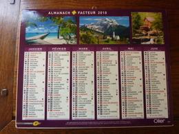 Calendrier, Almanach Du Facteur - La Poste - 2010 - - Autres