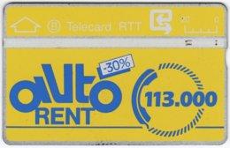 BELGIUM B-520 Hologram Belgacom - 906C - Used - Ohne Chip