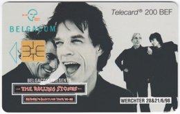 BELGIUM B-530 Chip Belgacom - Musicians, The Rolling Stones - Used - Mit Chip