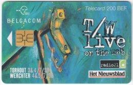 BELGIUM B-531 Chip Belgacom - Advertising, Newspaper - Used - Mit Chip