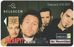 BELGIUM B-532 Chip Belgacom - Advertising, Newspaper - Used - Mit Chip