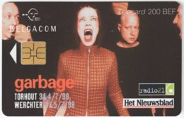BELGIUM B-535 Chip Belgacom - Advertising, Newspaper - Used - Mit Chip