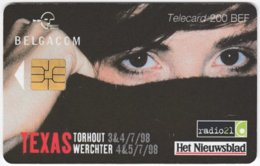 BELGIUM B-534 Chip Belgacom - Advertising, Newspaper - Used - Mit Chip