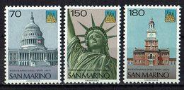 San Marino 1976 // Mi. 1115/1117 ** - San Marino