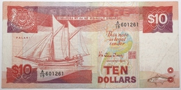 Singapour - 10 Dollars - 1988 - PICK 20 - TTB - Singapore