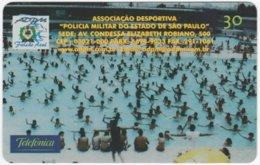 BRASIL K-324 Magnetic Telefonica - Used - Brasilien
