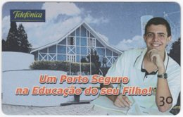 BRASIL K-338 Magnetic Telefonica - Architecture, Building - Used - Brasilien