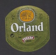 Etiquette De Bière Blonde  -  Orland  -  Brasserie Terken  à  Roubaix  (59) - Beer
