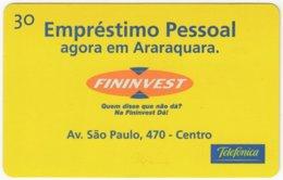 BRASIL K-369 Magnetic Telefonica - Used - Brasilien