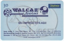 BRASIL K-372 Magnetic Telefonica - Used - Brasilien